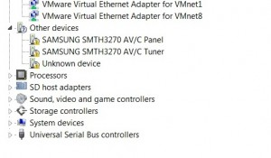 Device Manager - SMT-H3272 Firewire devices