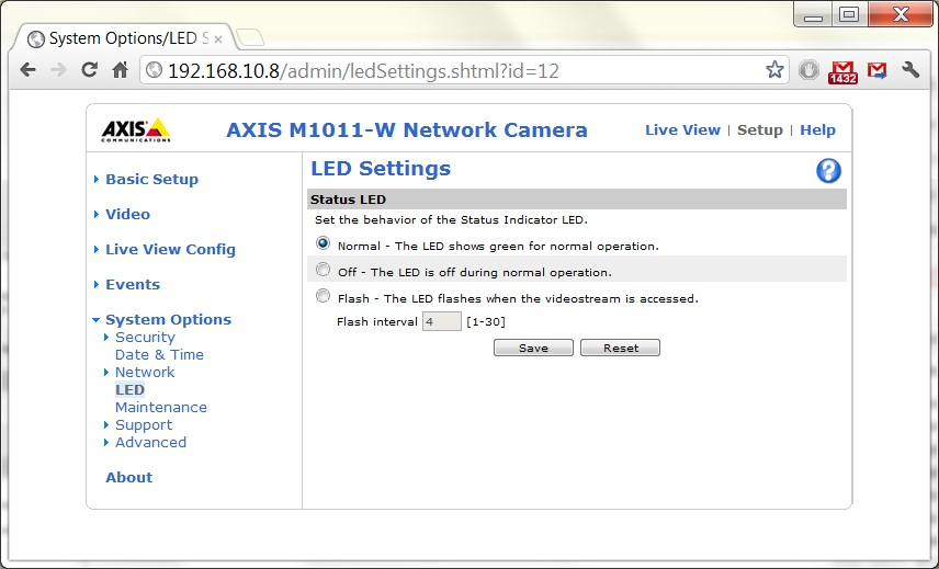 How to setup the axis m1011 w wireless security camera for Security camera placement software