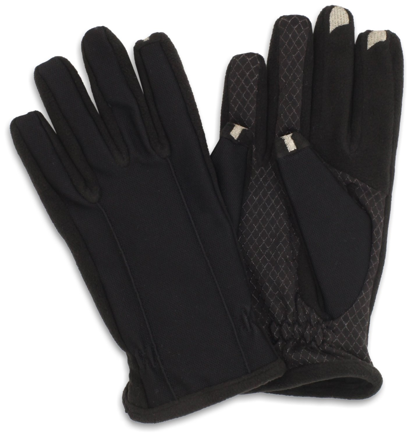 Mens gloves isotoner - Isotoner Men S Smartouch Tech Stretch Gloves