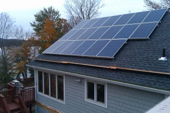 Metacoin's solar power system