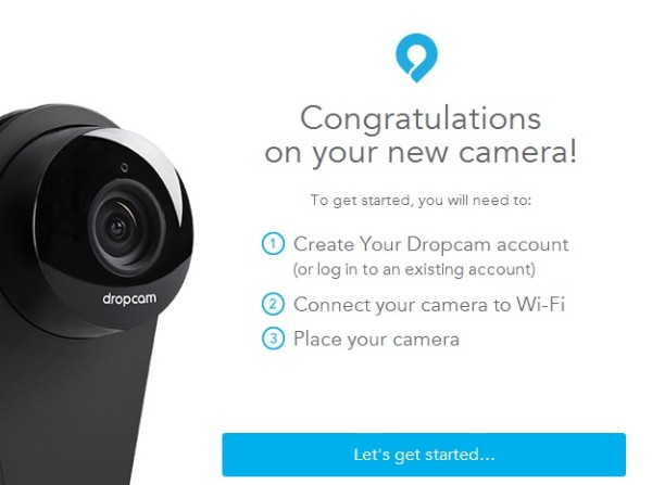 Dropcam Pro - Software Getting Started