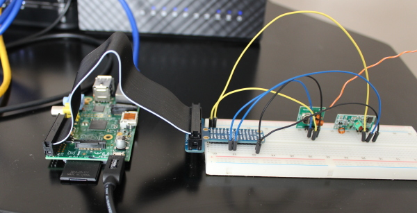 433MHz Transmitter and Receiver With Pi