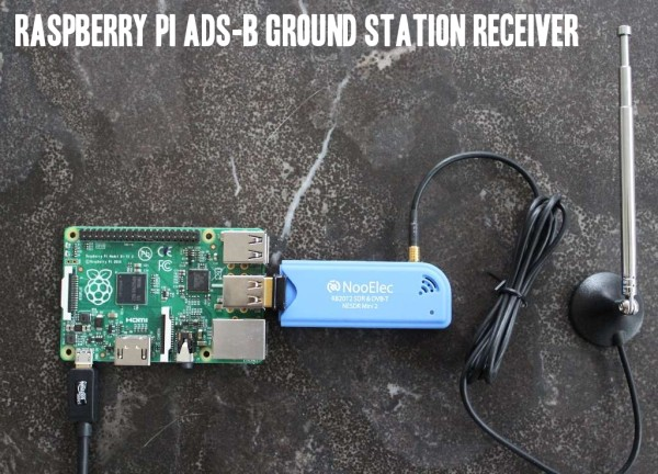 Raspberry Pi ADS-B Ground Station Receiver